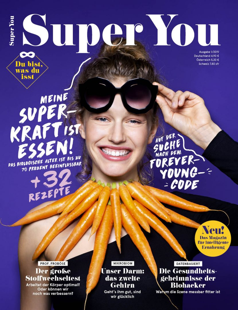 Super You Health-Style-Magazin Cover