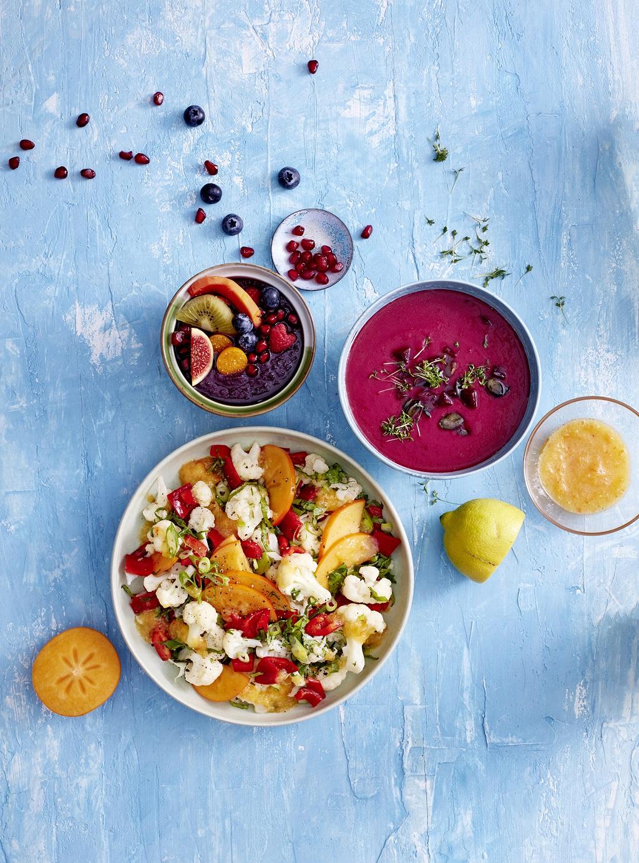 Healthy Blumenkohlsalat-Bowl