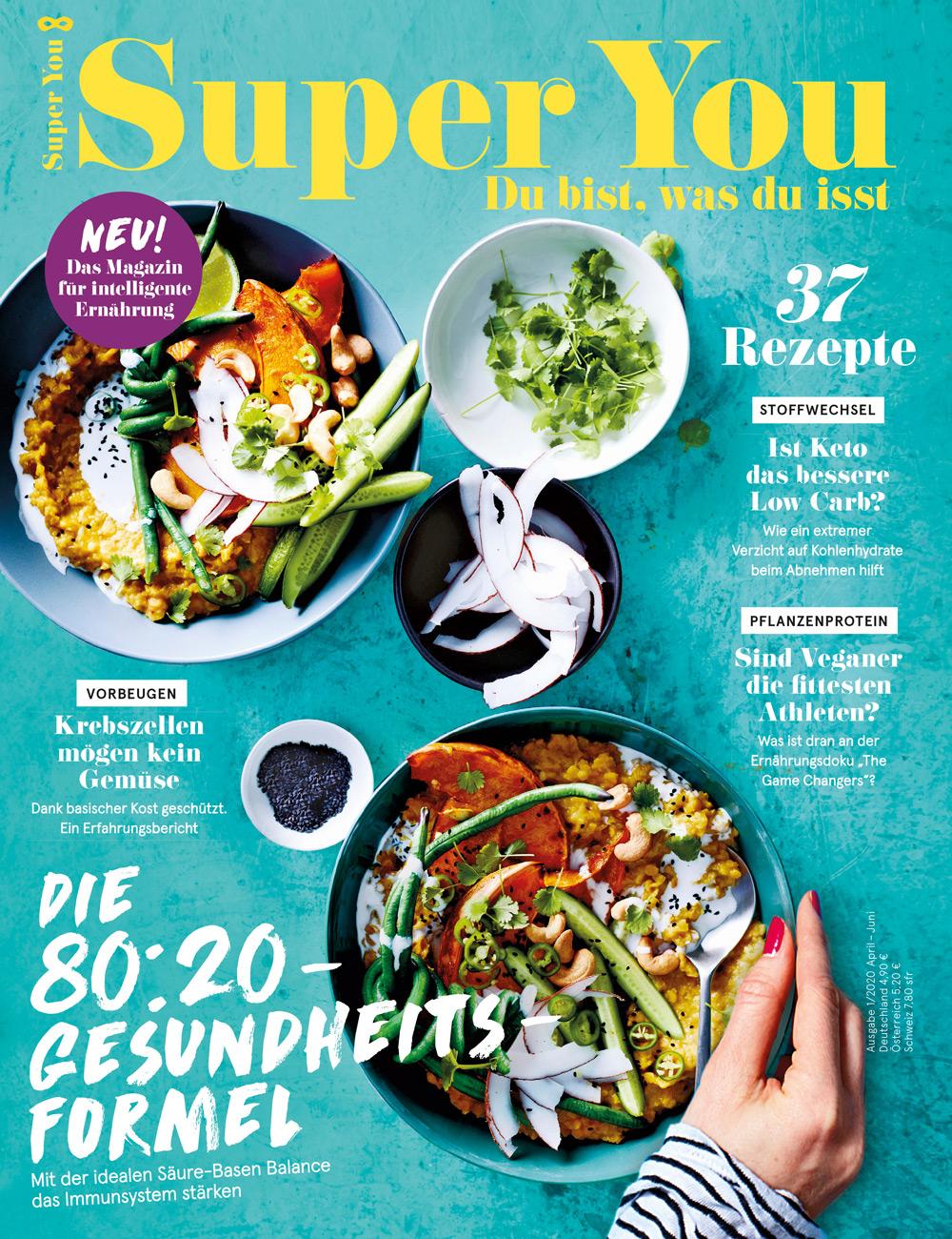 Super You Health-Style-Magazin Cover